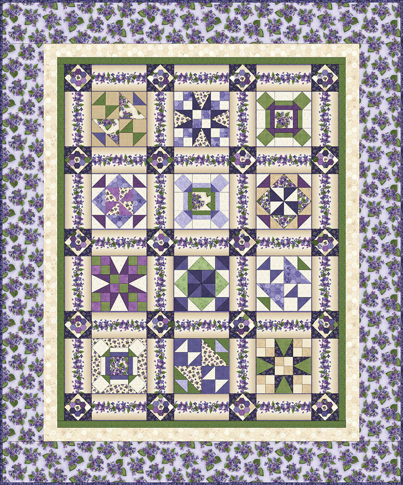 block of the month picklemouse corner